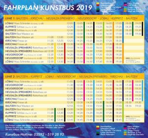 KunstBUS_Fahrplan_2019