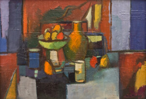 Jan Buk: Stillleben mit Früchten