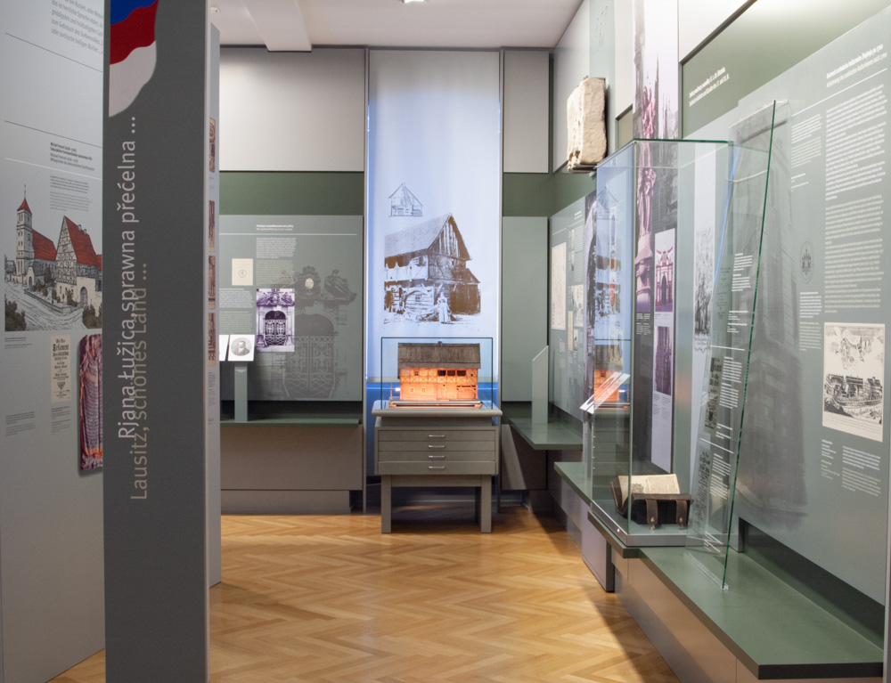 Ausstellungsbereich Sorbische nationale Wiedergeburt