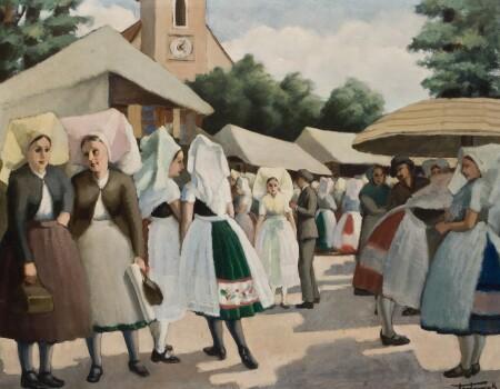 Hermank w Błótach / Jahrmarkt im Spreewald
