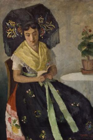 Bildnis der Mina Witkojc