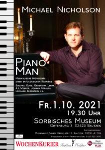 Konzert Michael Nicholson - DER Piano Man