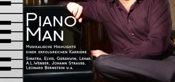 Konzert Michael Nicholson – DER Piano Man