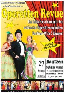 Operetten Revue - Musik-Show Berlin