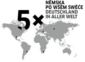 5 x Deutschland in aller Welt - 5 x Němska po wšěm swěće